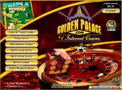 european roulette golden palace casino